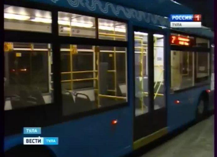 Подаренные Туле троллейбусы вышли на городские маршруты