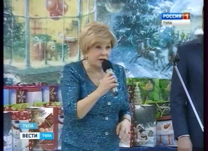 Ангелина Вовк открыла тулякам тайну, как на самом деле в студии появились Хрюша, Степашка и Филя