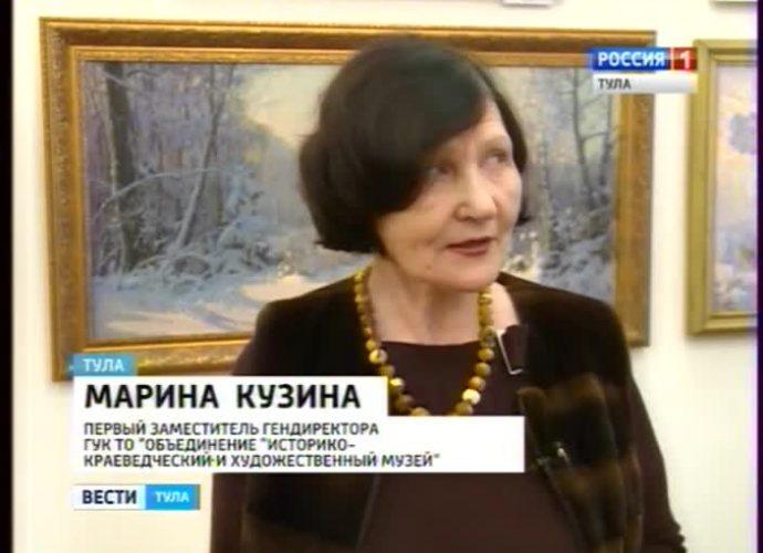 Выставка в Туле собрала зимних пейзажистов