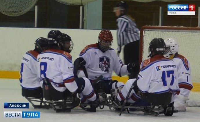На республиканской базе «Ока» проходит чемпионат страны по следж-хоккею