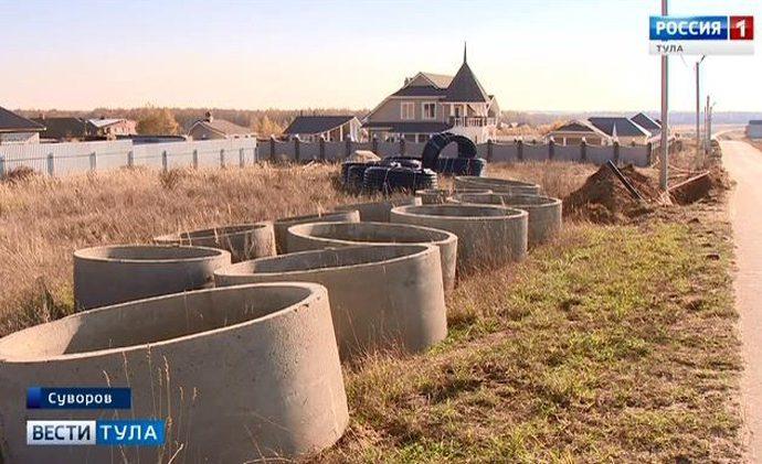 В Суворове жители одного из микрорайонов дождались центрального водоснабжения