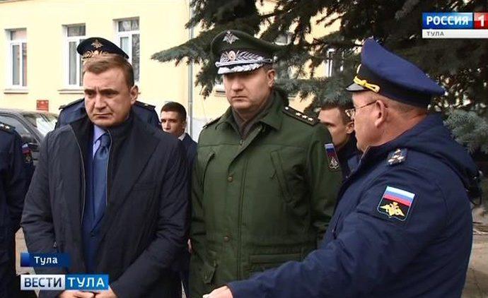Заместитель министра обороны России приехал в Тулу с инспекцией