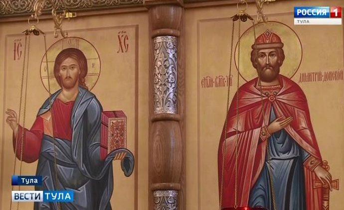 Самый молодой православный храм в Туле отметил годовщину