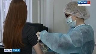 В регионе продолжается прививочная кампания против гриппа