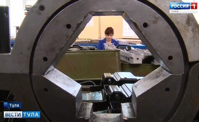 Тульский машиностроительный завод будет выпускать новую пушку