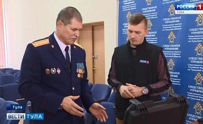 Корреспондент тульских «Вестей» узнал о тонкостях работы криминалистов