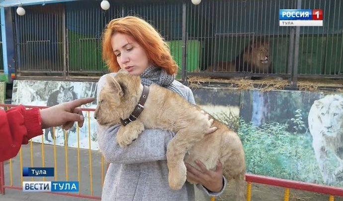 В Туле проверили печально известный передвижной зоопарк «Ноев ковчег»