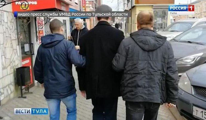 Тульские полицейские сорвали похищение бизнесмена
