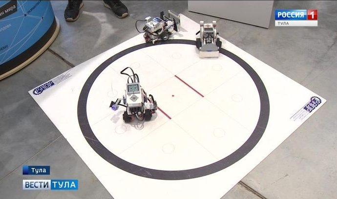 На фестивале «Наука 0+» в Туле сыграют в робофутбол