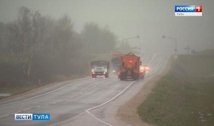 Федеральные трассы Тульской области зимой будут обслуживать более 120 дорожных машин