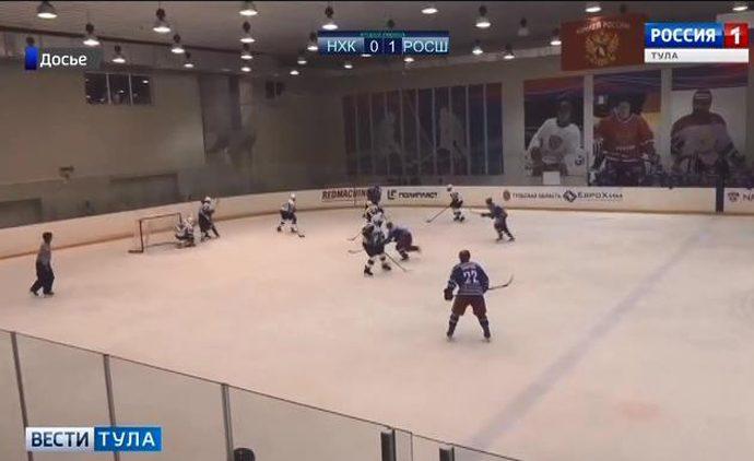 Новомосковские хоккеисты потерпели два поражения на выезде