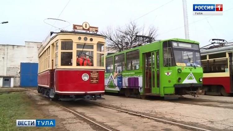 91 год назад в Туле на маршрут впервые вышел электрический трамвай