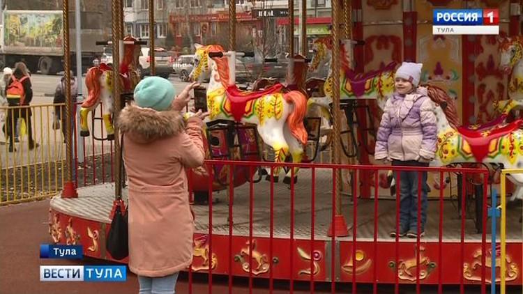 В Зареченском сквере появились  новые объекты