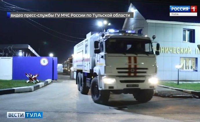 Тульских спасателей отправили в Краснодарский край