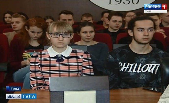 Тульские студенты пообщались с разработчиками электронных урн