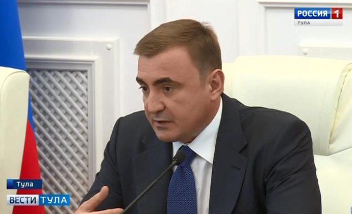 Алексей Дюмин потребовал от чиновников не прикрываться подрядчиками