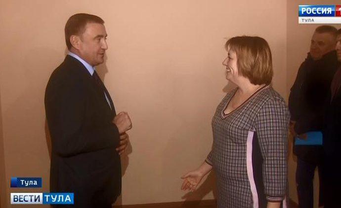 Алексей Дюмин встретился с переселенцами