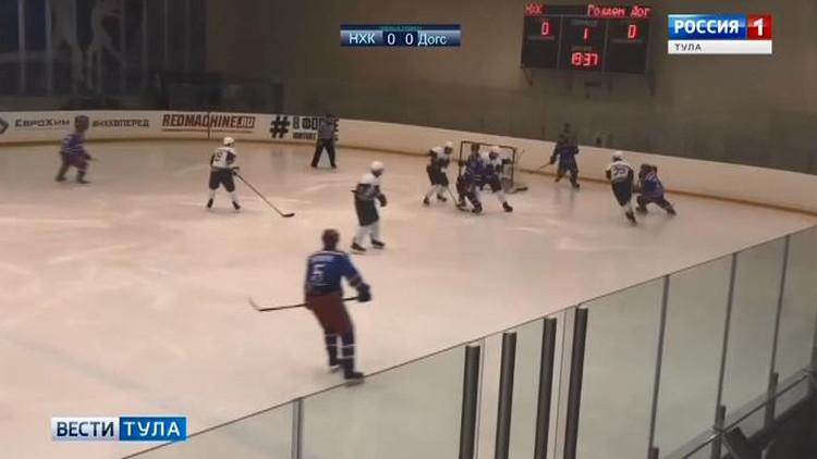 «Новомосковский хоккейный клуб» разгромил соперников из Дмитрова