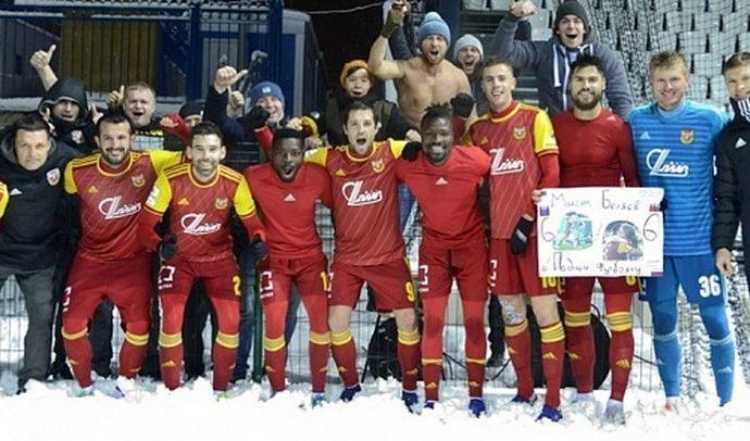 Тульский «Арсенал» обыграл «Оренбург»