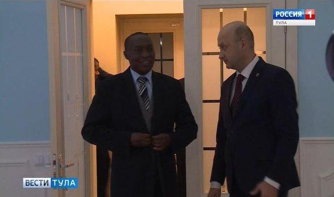 Посол Бурунди предложил Тульской области сотрудничество