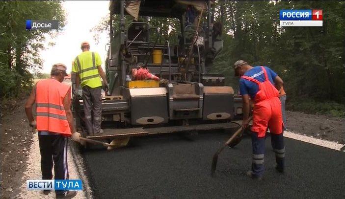 Сроки ремонта тульских дорог сдвинулись из-за проблем с поставкой щебня
