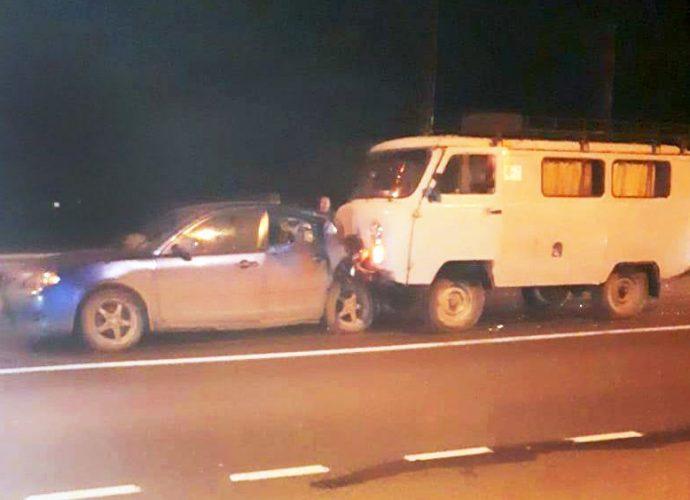 Из-за пьяного водителя «буханки» пострадали женщина и ребёнок