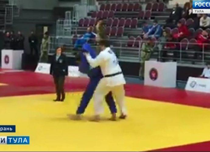 Тульский дзюдоист стал победителем первенства России