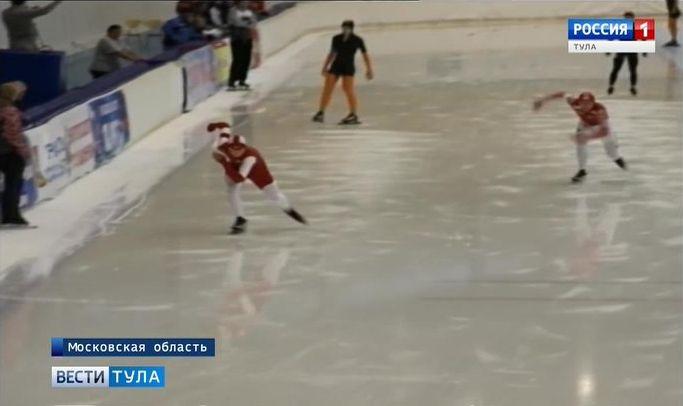 Тульский конькобежец забрал «серебро» первенства Подмосковья