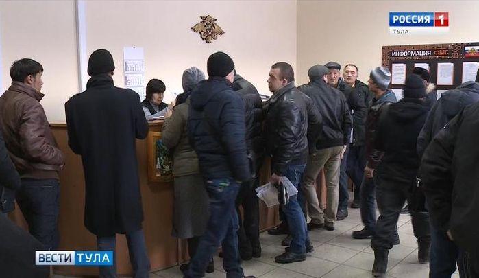 В Тульскую область законно смогут приехать 2000 мигрантов
