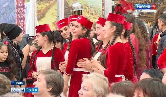 В Тульском кремле прошёл фестиваль «Страна в миниатюре»