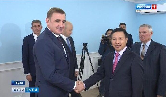 Алексей Дюмин пригласил в регион вьетнамских бизнесменов