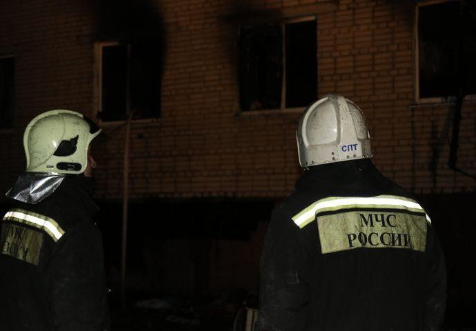На пожаре в Туле погибли четверо детей