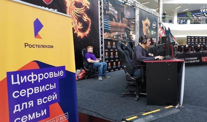 «Ростелеком» обеспечил быстрым интернетом студенческий чемпионат по киберспорту в Туле
