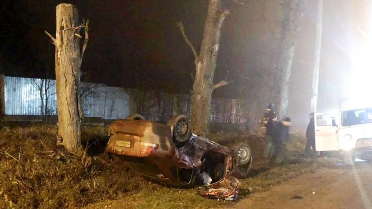 В Щекинском районе столкнулись две иномарки