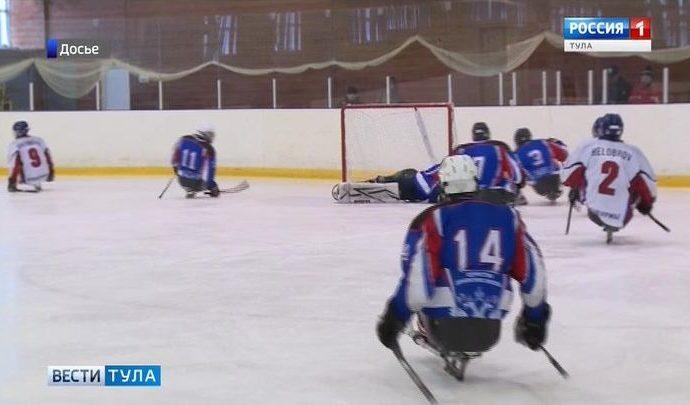 Юные тульские следж-хоккеисты привезли «золото» из Канады