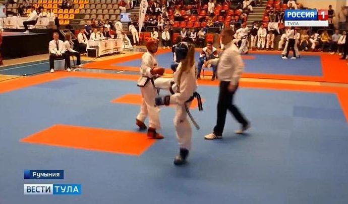 Туляки завоевали 4 медали на Кубке Европы по тхэквондо