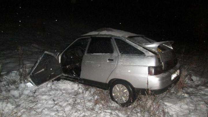 В Тульской области несколько машин врезались в металлические ограждения