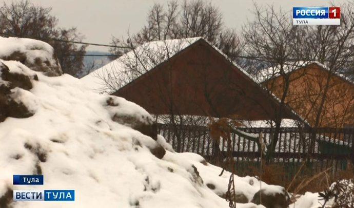 Жителей Хрущёво завалили снегом
