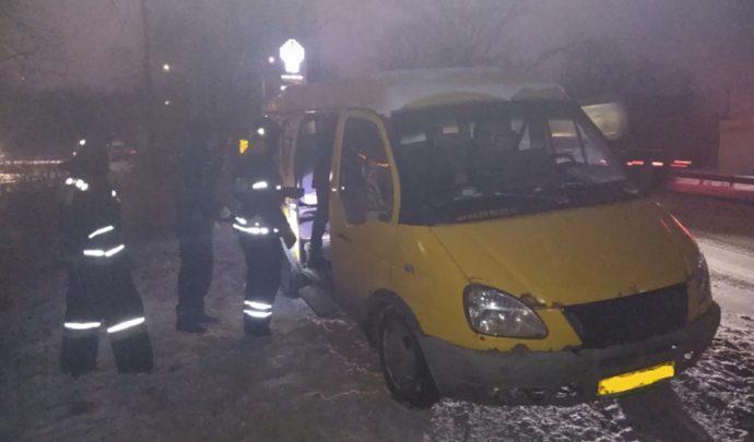 В Новомосковске произошло ДТП с участием двух ГАЗелей