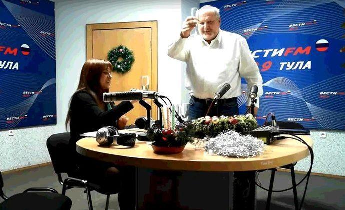 Вести FM Тула. «Лично знаком» с Сергеем Беловым. 28.12.2018