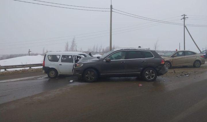 В ДТП на трассе «Крым» в Тульской области пострадал ребёнок