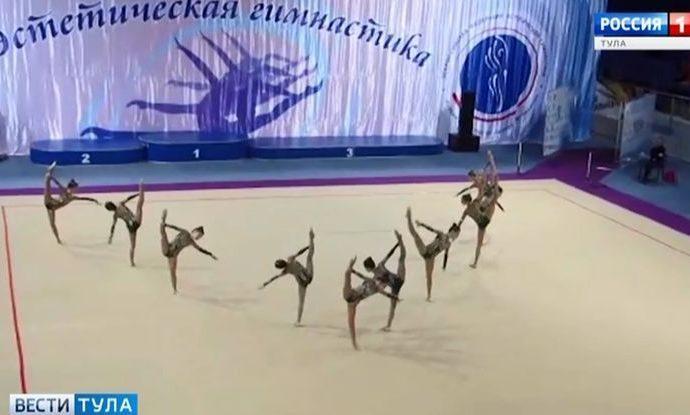 Тульские гимнастки клуба «Роксет» стали бронзовой «Надеждой России»