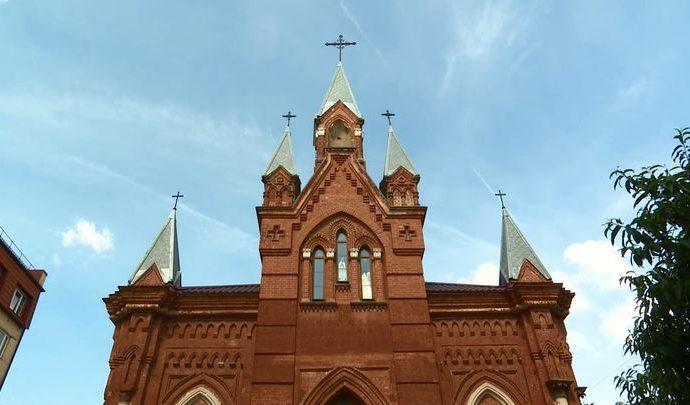 Специальный репортаж: Католический храм. 11.08.2018