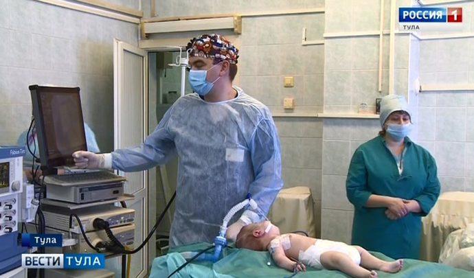 Тульские хирурги освоили метод, раннее доступный в Москве