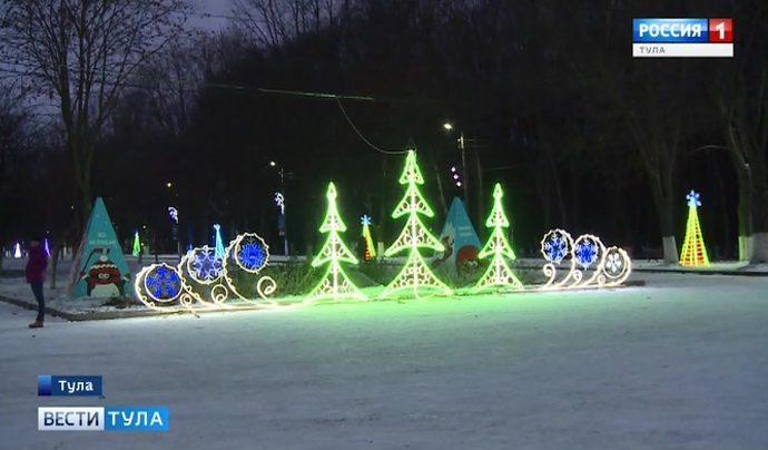 Где в Туле пройдет забег Дедов Морозов?
