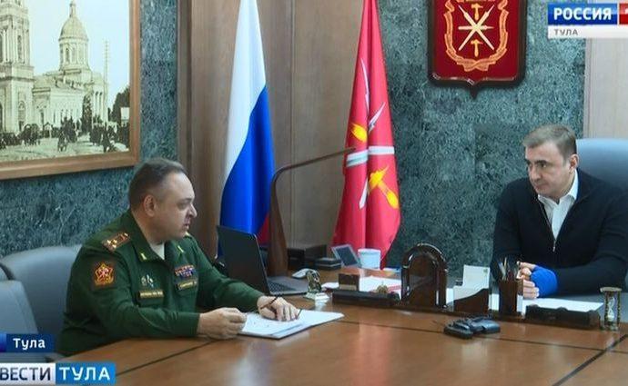Тульский военком сообщил губернатору об уклонистах