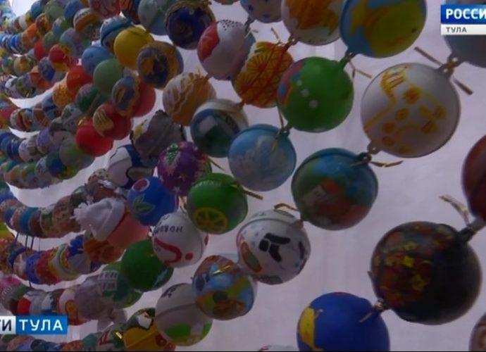 На фестивале «Шар-папье» в Туле соберут 120-метровые бусы