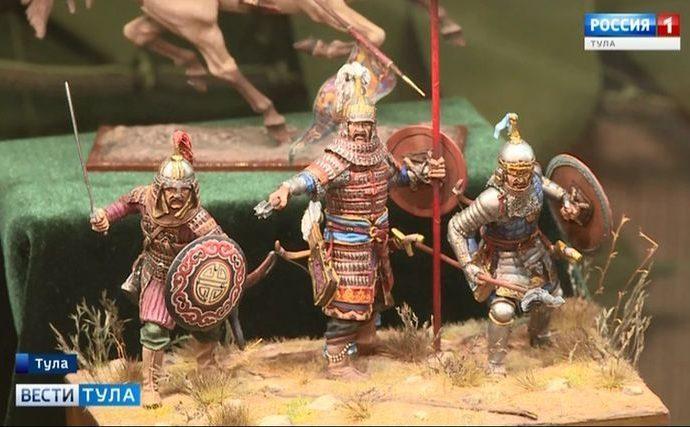 В музее оружия открылась выставка солдатиков