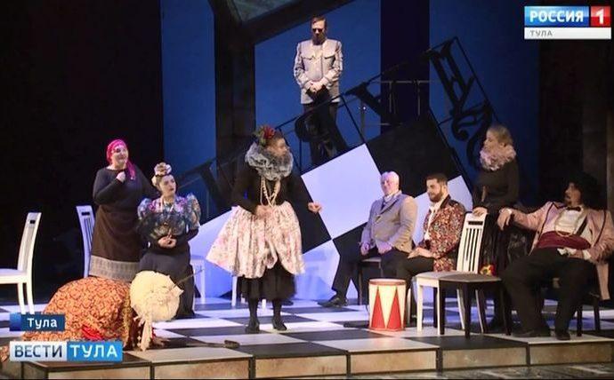 В Тульской драме смело подошли к «Умной дурочке»