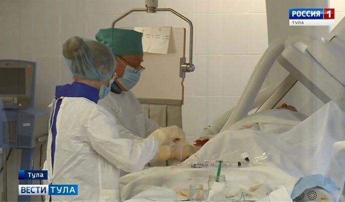 Эффективный метод лечения инсульта теперь доступен и тулякам